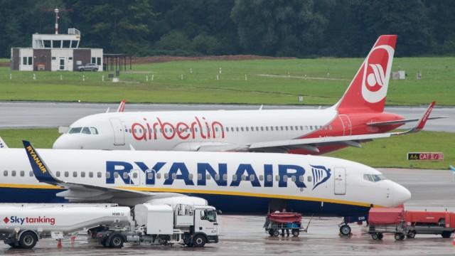 Airberlin und Ryanair