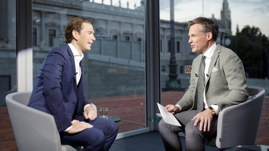 ORF-SOMMERGESPRÄCH MIT ÖVP-BUNDESPARTEIOBMANN KURZ