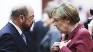 MOBI 01.09. - Martin Schulz und Angela Merkel