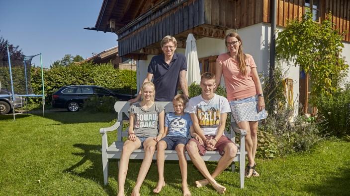 Haustausch Familie Burger