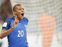 Fußball: WM-Qualifikation, Frankreich - Niederlande