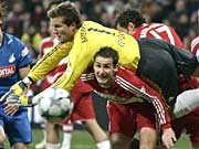 Fußball Bundesliga Sprüche Bayern München Hoffenheim Rensing Klose, dpa