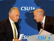 CSU, Von wegen Filz, Erwin Huber, Günther Beckstein, ddp
