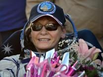 Drei Raumfahrer nach Monaten im All zur Erde zurückgekehrt