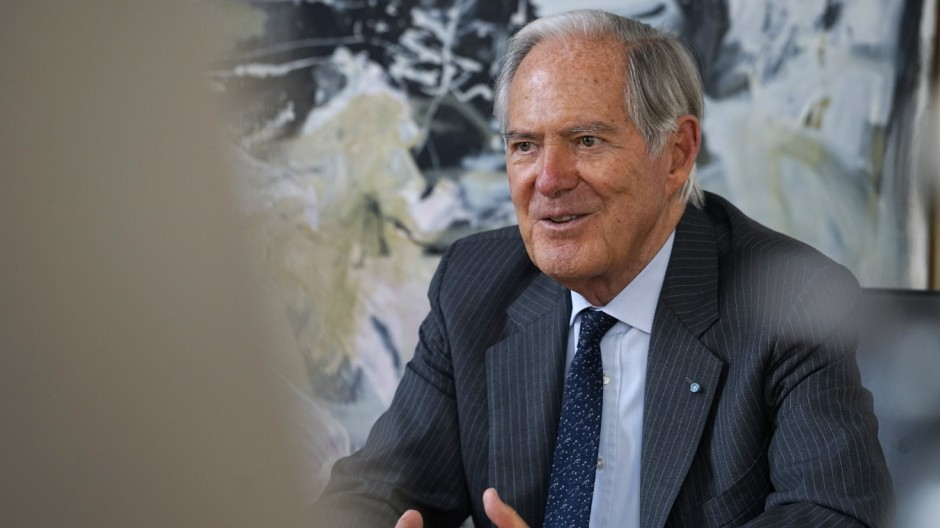 Roland Berger Interview mit Roland Berger