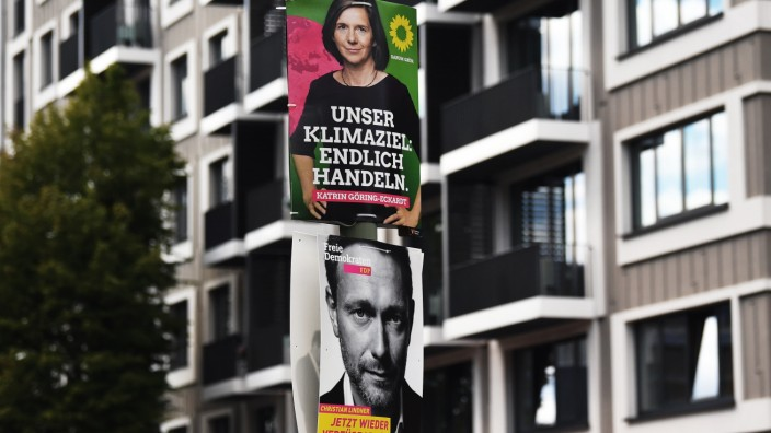 Wahlplakate in Berlin