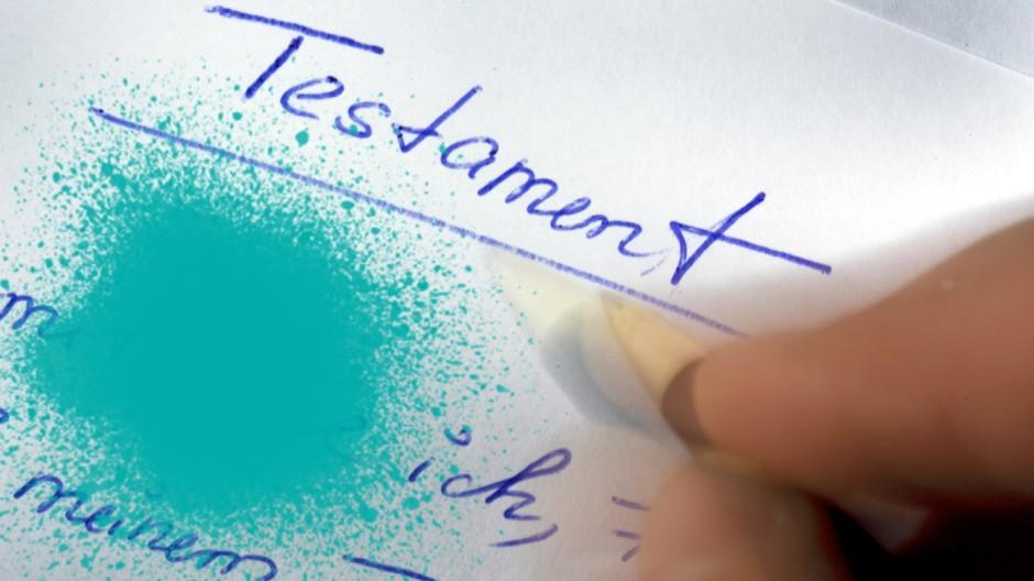 Testament; Democracy Lab Erbschaftssteuer