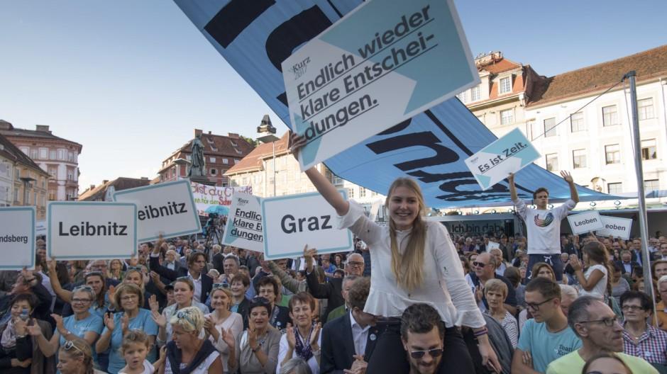 Wahl in Österreich Wahlkampf
