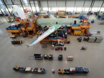 Airbus Produktion in Hamburg Finkenwerder