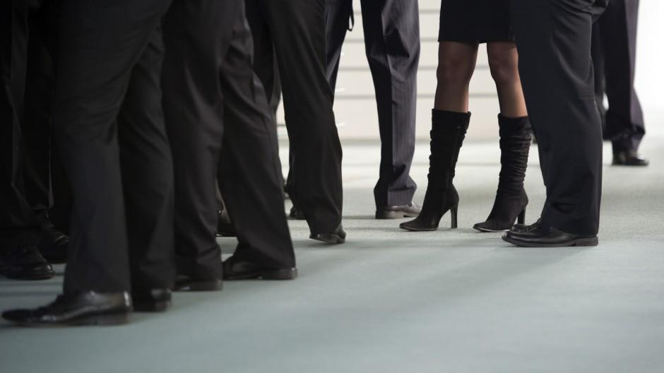 Frauen und Karriere Förderung
