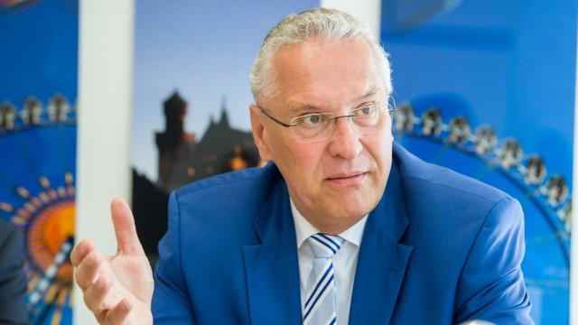 Bayerns Innenmininster Joachim Herrmann