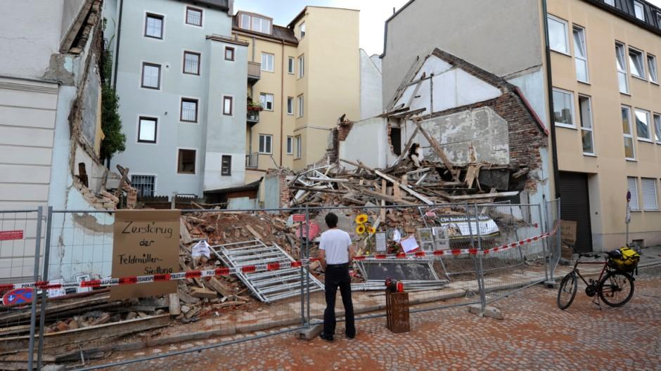 Wohnen in München Missachtung von Denkmalschutz