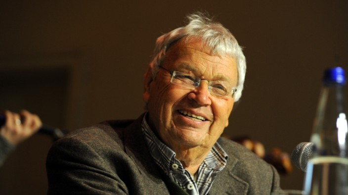 Gerhard Polt bei Buchvorstellung in München, 2017