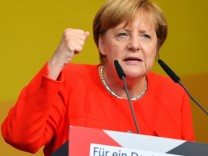 Wahlkampf CDU - Merkel