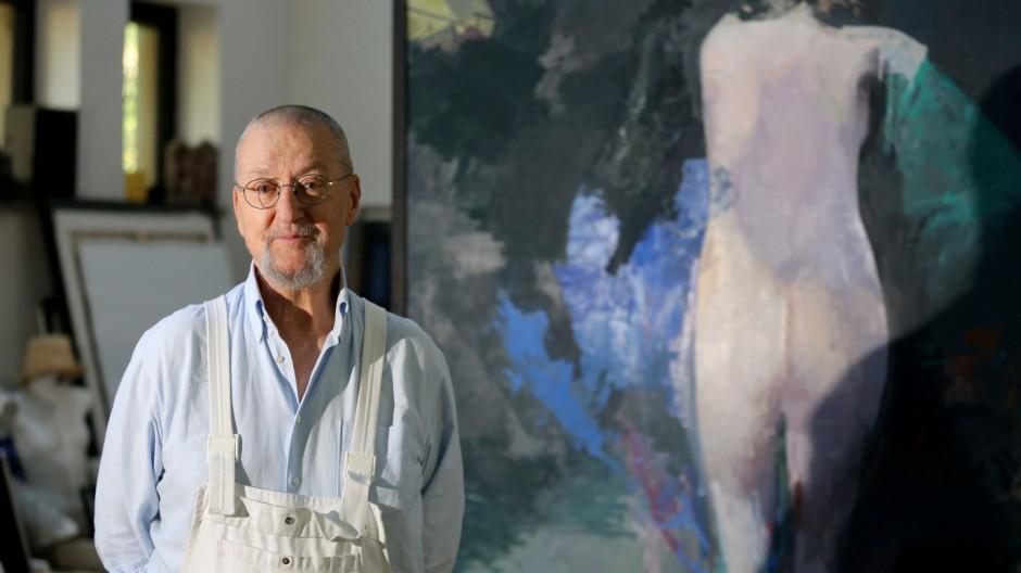 Maler Arno Rink wird 75
