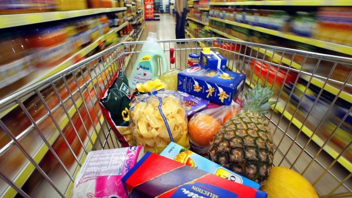 Verbraucherpreise; Einkaufswagen