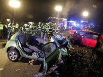 Rosenheim Unfall Autorennen Raserszene