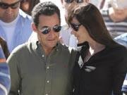 Carla Bruni, Nicolas Sarkozy, Reuters