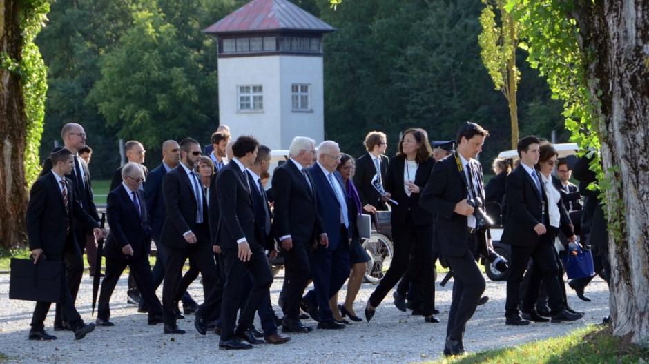 Dachau Staatsbesuch in Dachau