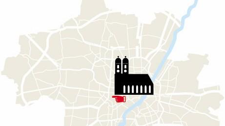 Stadtplan München Kazmairstraße