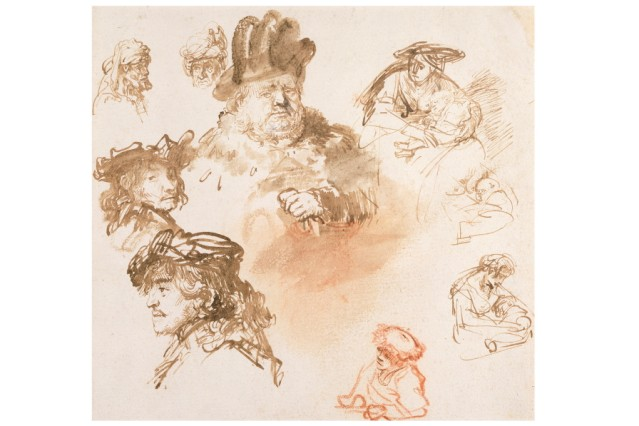 The Encounter: Drawings from Leonardo to Rembrandt.