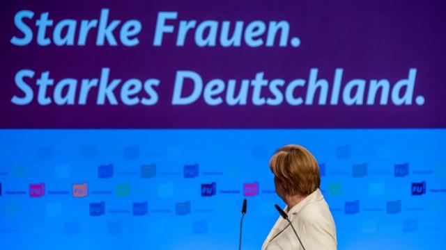 Bundesdelegiertentag der Frauen Union der CDU