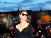 Actor Sarandon poses during a red carpet event for the movie '' The Leisure Seeker ' at the 74th Venice Film Festival in Venice