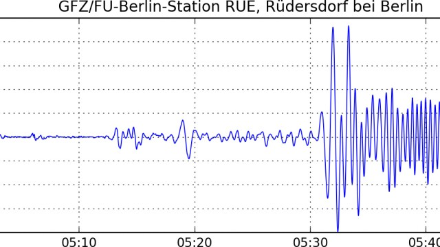 Mexiko-Beben auch in Berlin registriert
