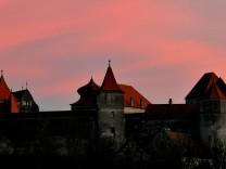 Sonnenuntergang bei Harburg
