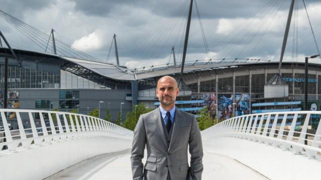 08 07 2016 City Football Academy Manchester ENG Premier League Manchester City Pressekonferenz