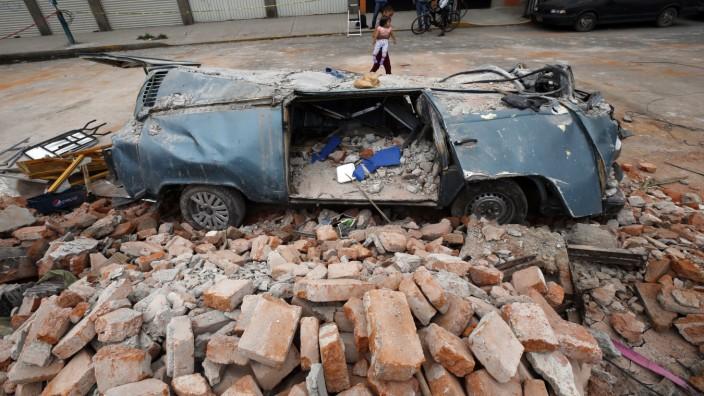 Schweres Erdbeben in Mexiko