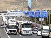 Spanien Auto Verkehr