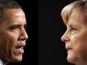 Afghanistan, Barack Obama, Angela Merkel. Fotos: AFP, AP, Montage: sueddeutsche.de