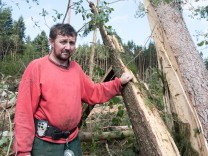 Sturmschaden im Landkreis Passau