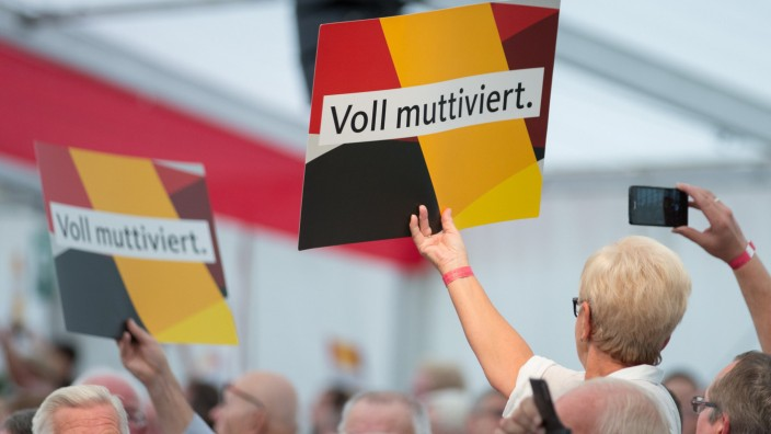 CDU-Wahlkampf mit Angela Merkel