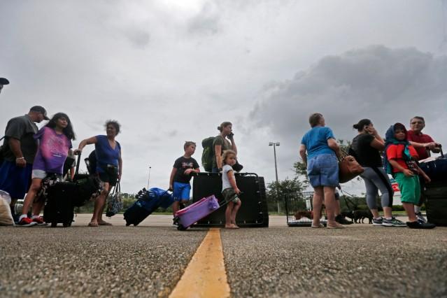 Hurrikan 'Irma' - Notunterkunft