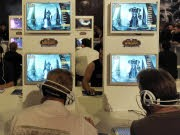 World of Warcraft Spieler auf der GC, AP