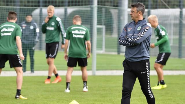 11 09 2017 Fussball 2 Bundesliga Saison 2017 2018 SpVgg Greuther Fürth Fuerth Training