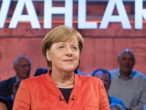 Wahlarena mit Bundeskanzlerin Merkel