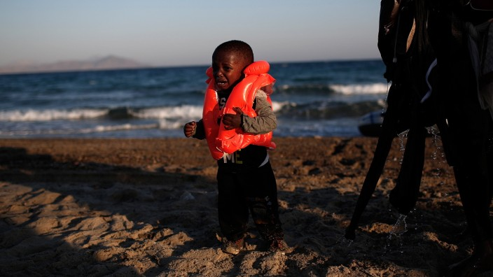 Migrants Arrive On The Beaches Of Kos In Greece