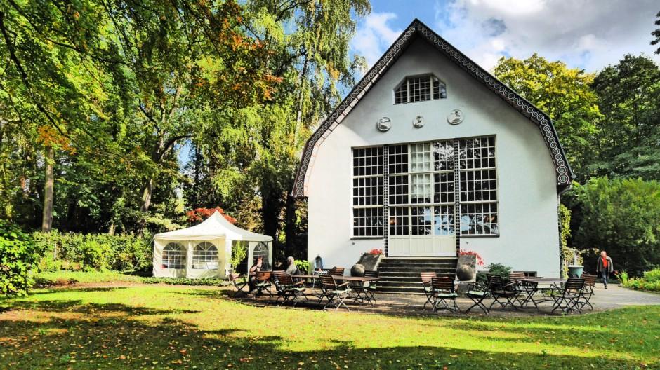 Buckow Märkische Schweiz im Landkreis Märkisch Oderland MOL im Bundesland Brandenburg das Brecht