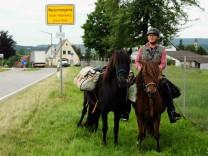550 Kilometer mit dem Pferd