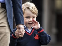 Erster Schultag für Prinz George