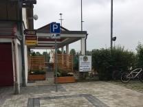 Grasbrunn Behindertenparkplatz