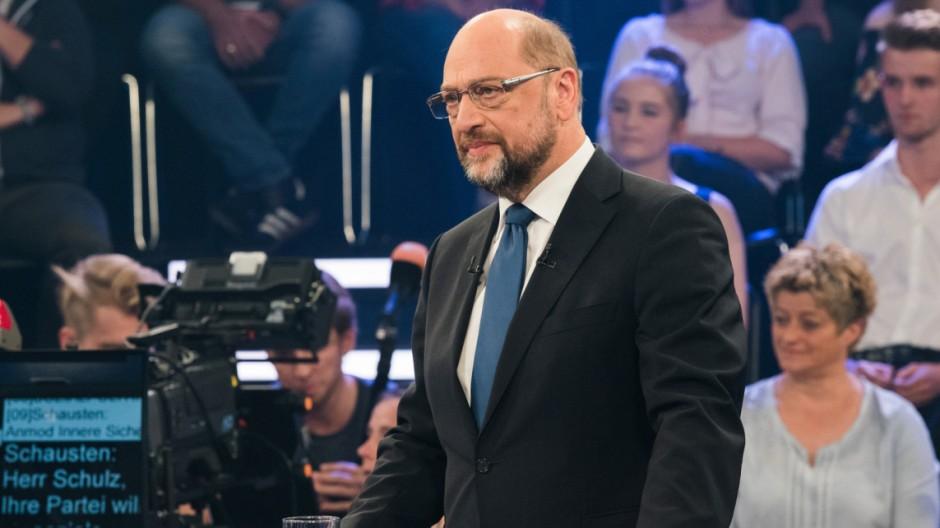 'Klartext, Herr Schulz!' im ZDF