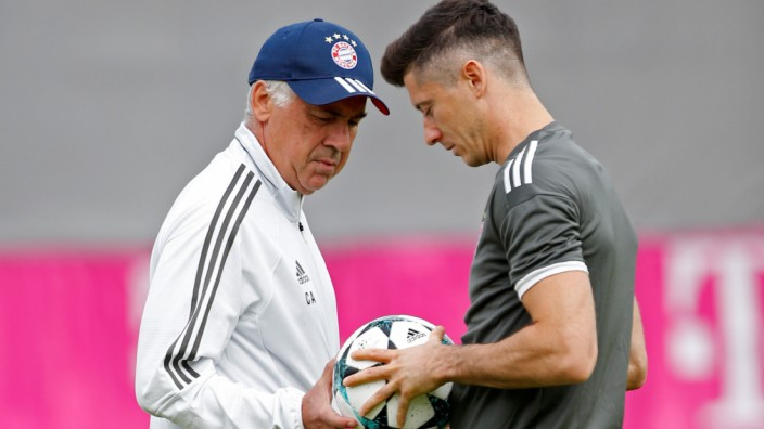 FC Bayern Munich Training