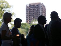 Nach dem Brand im Grenfell-Tower