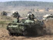 Gemeinsames Manöver von Russland und Weißrussland
