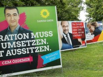 Political Parties Campaign In Federal Elections