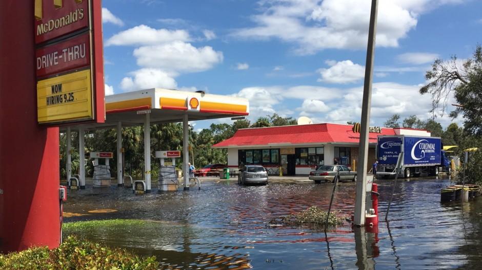 "Naturkatastrophen Hurrikan ""Irma"""